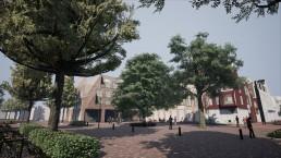 Screenshot uit de Mooi Bergen VR ervaring